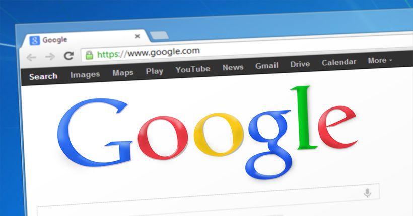 Googleの検索フォーム