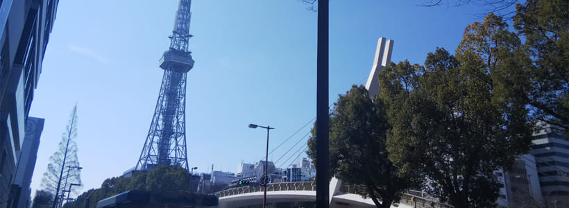 名古屋テレビ塔と大通公園
