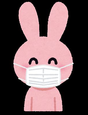 咳ぜんそくのウサギ