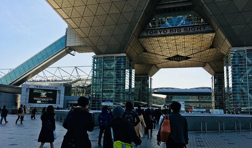 コンテンツマーケティングジャパンが開催された東京ビッグサイト